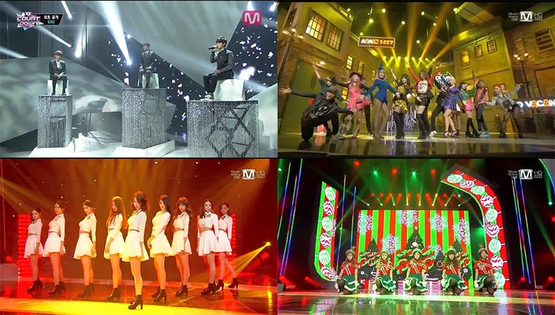 M!Countdown Comeback Performances