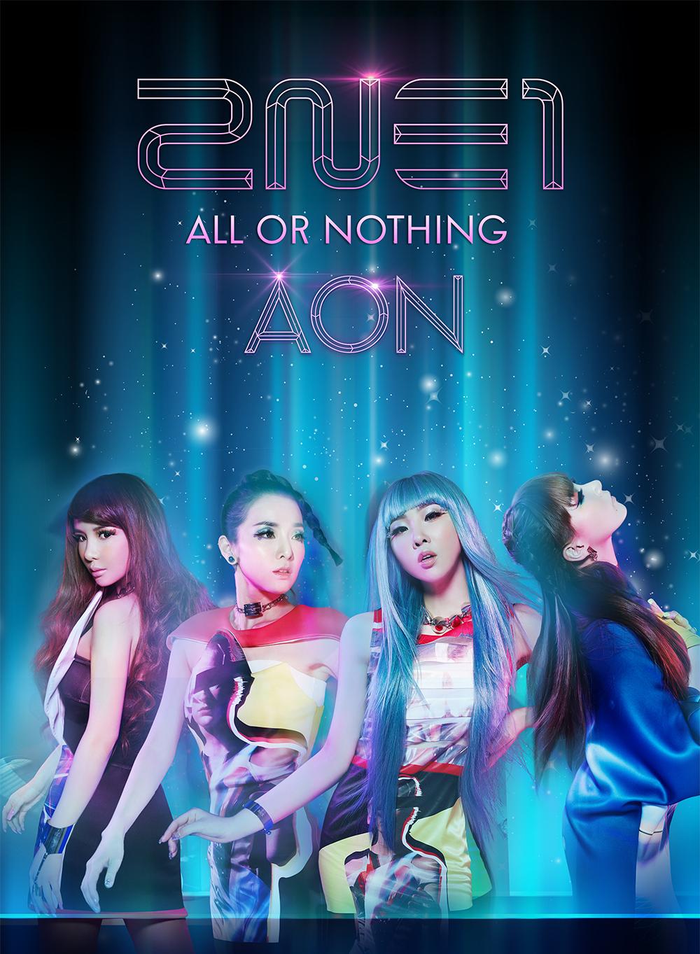 2NE1 AON main poster big