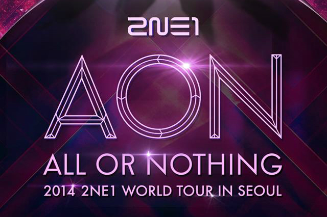2NE1 AON 2014 World Tour