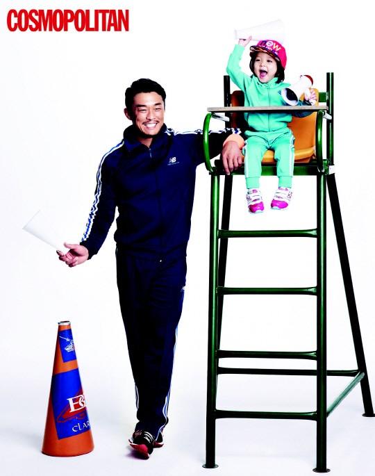 Chu Sa Rang and Chu Sung Hoon for Cosmopolitan 3
