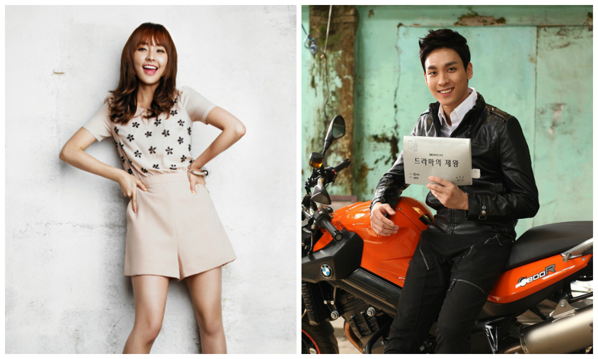 Jung Yoo Mi and Choi Tae Joon