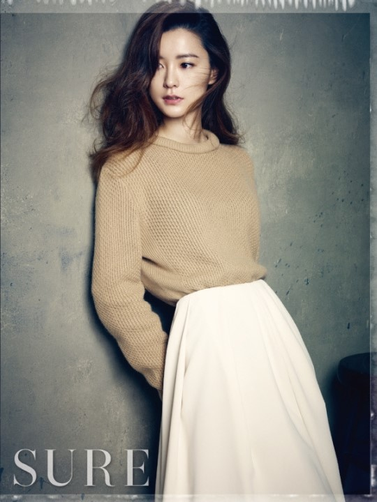 Jung Yoo Mi for Sure Magazine