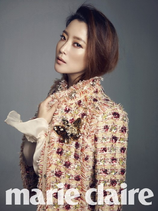 Kim Hee Sun for Marie Claire 1