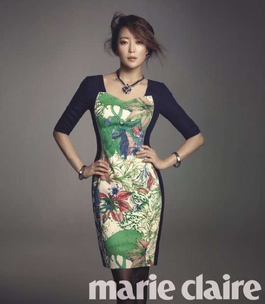 Kim Hee Sun for Marie Claire 3