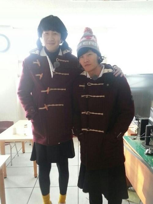 Kim Jong Kook and Lee Kwang Soo