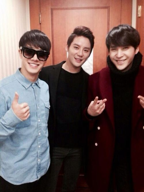 Lee Ki Kwang, Son Dong Woon, and Junsu