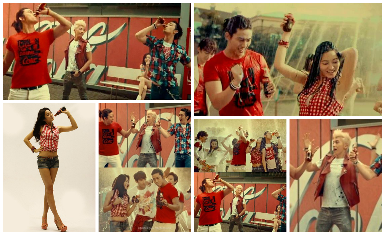 Park Se Young and 2PM CF