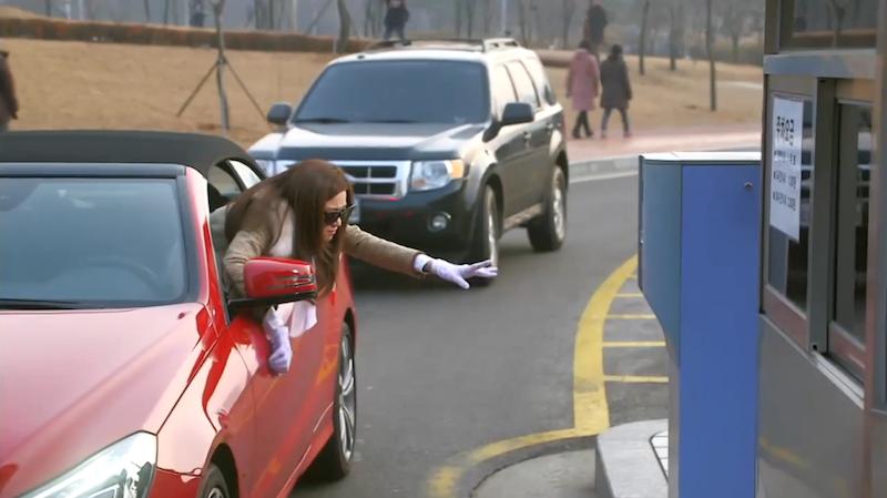 Song Yi Driving