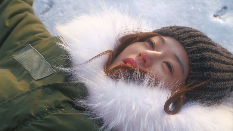 Song Yi On Snow