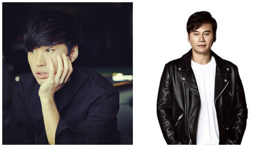 Tablo and Yang Hyun Suk