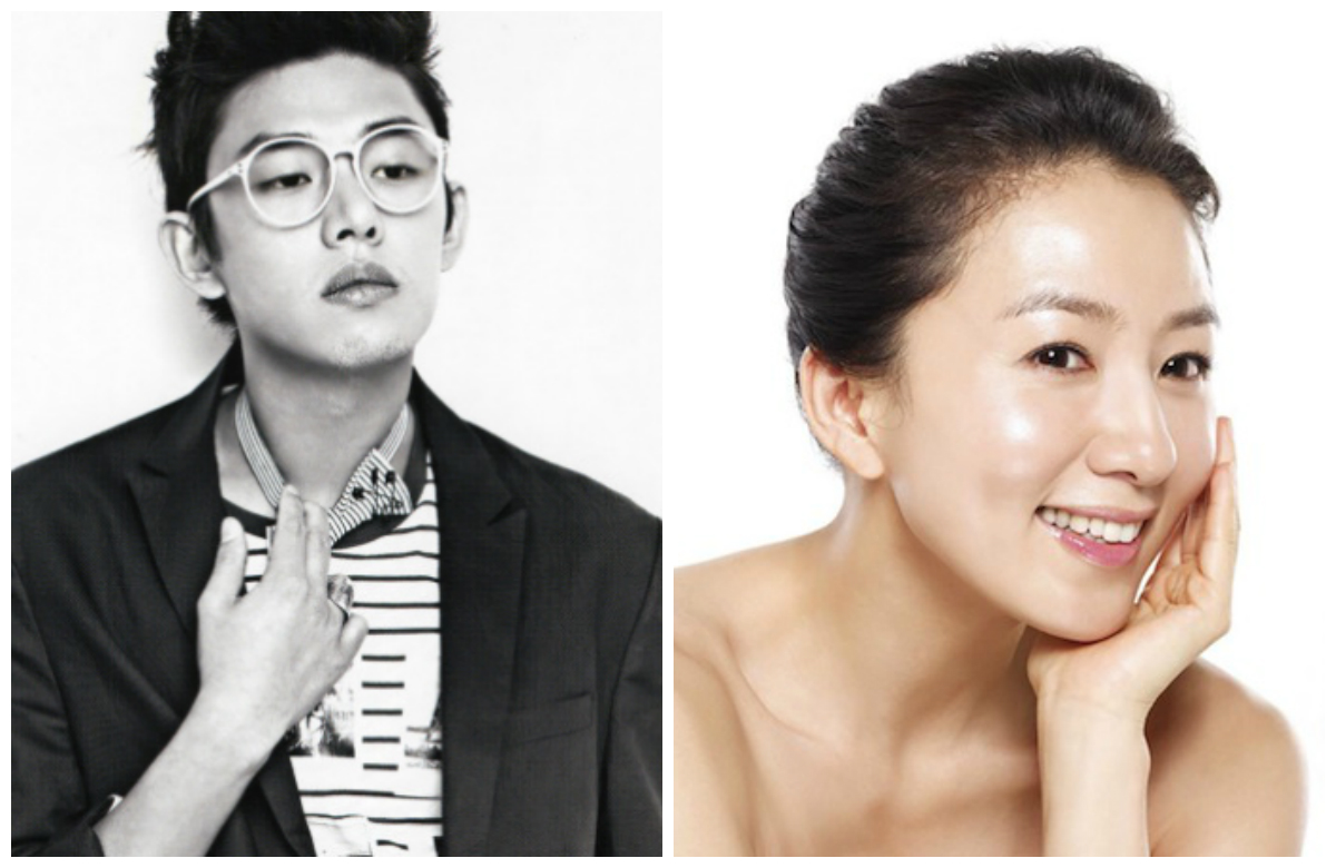 Yoo Ah In and Kim Hee Ae