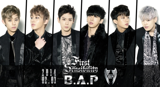 b.a.p first sensibility 1