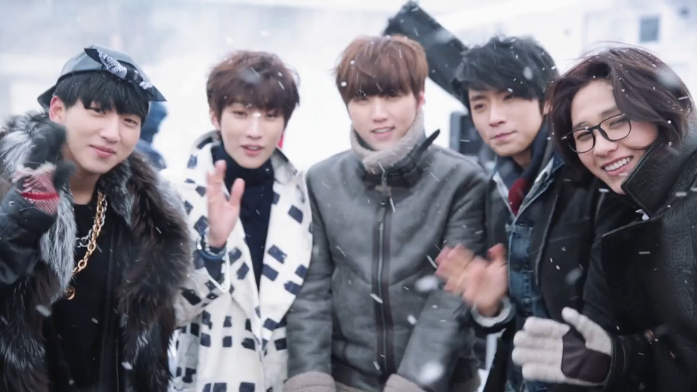"B1A4 ""Lovely"" MV Making"