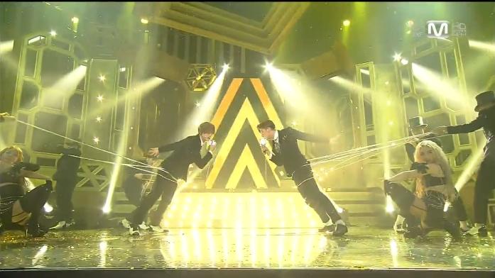 TVXQ - Something @ M!Countdown