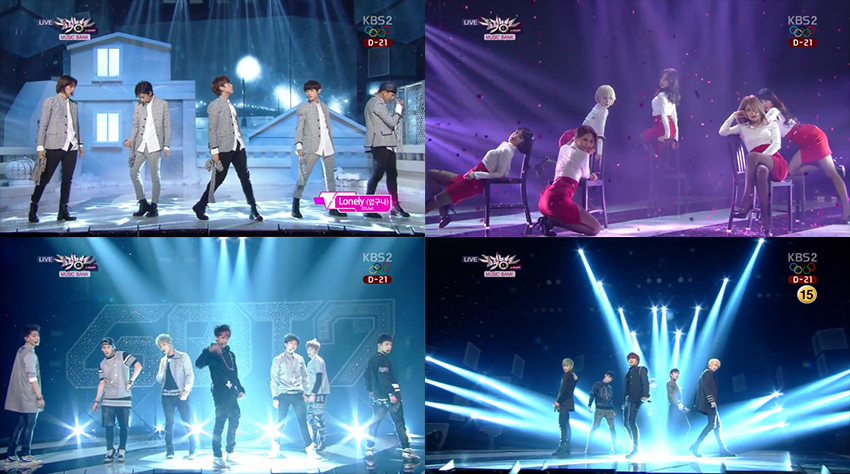 Music Bank Performances 01.17.14