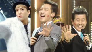 rain baro tae jin ah inkigayo soompi