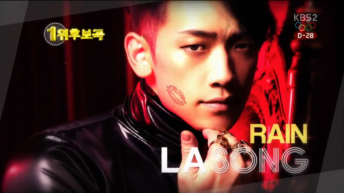 Rain Comeback on Music Bank
