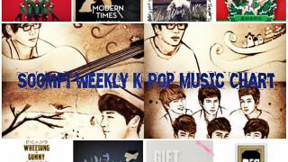 soompi weekly kpop music chart
