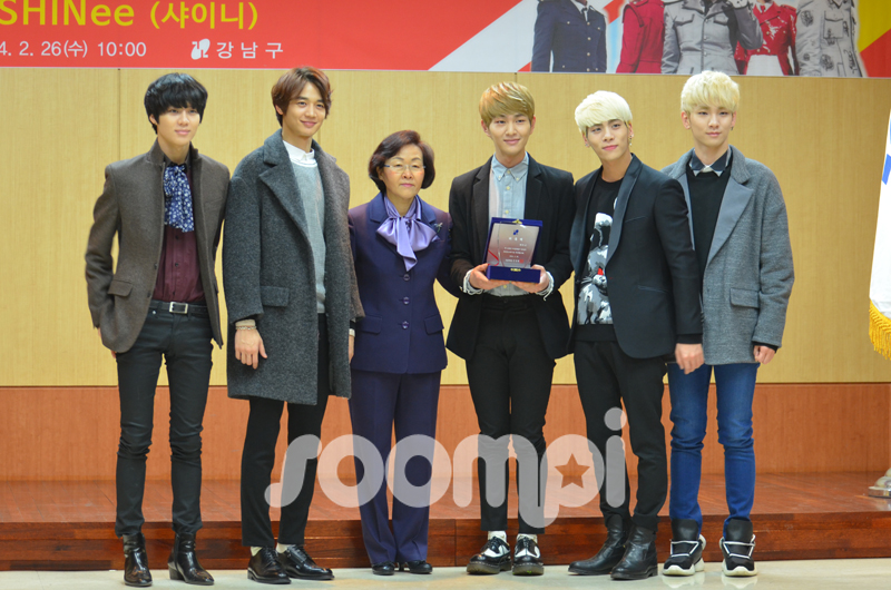 [Gallery] Honorary Ambassador SHINee Wants You to Visit Gangnam!