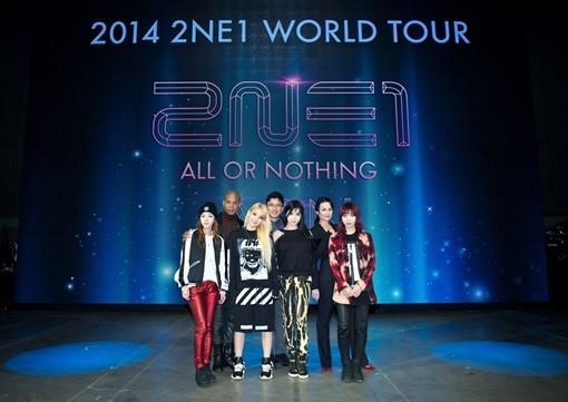 2NE1 AON Concert
