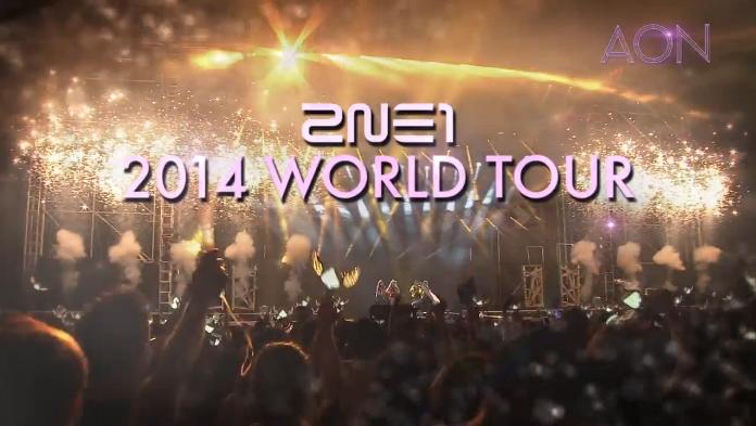 2014 2NE1 WORLD TOUR [ALL OR NOTHING] TEASER SPOT