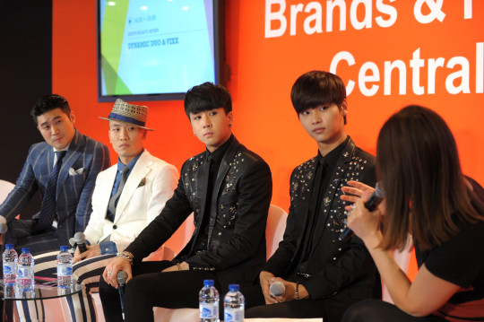 MIDEM 2014 - CONFERENCES - ARTISTS SPEAK TO ARTISTS - DYNAMIC DUO AND VIXX