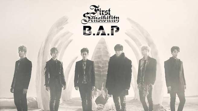 "B.A.P ""First Sensibility"""
