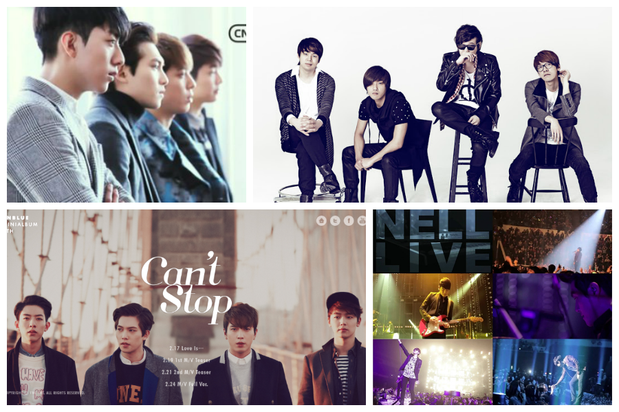 CNBlue and Nell
