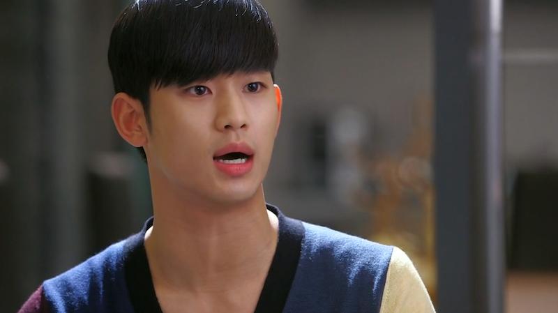 Min Joon Angry