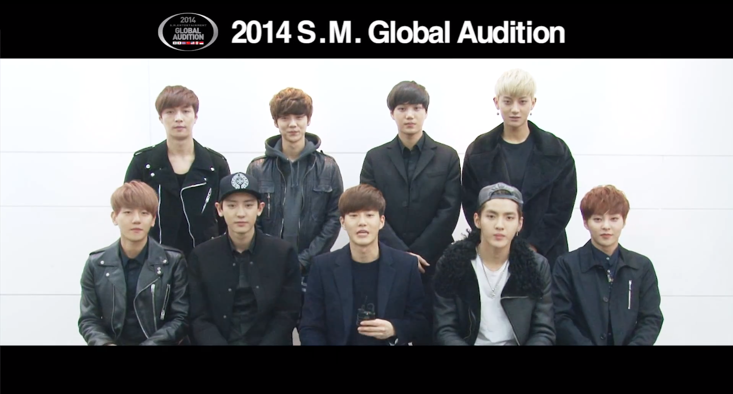 2014 SM Global Audition Message