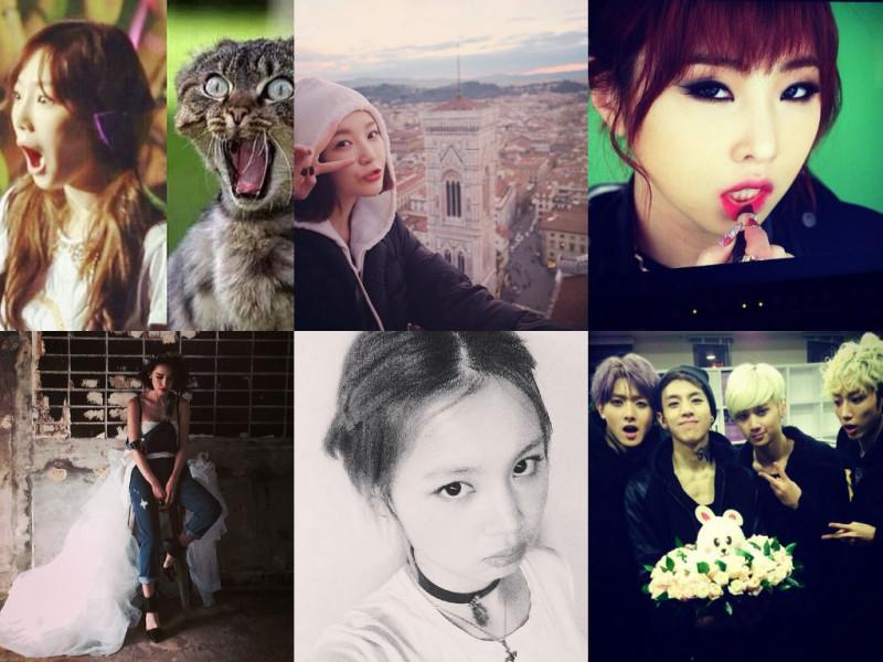 I Heart It: K-Pop Instagrams (Feb. 9 – 15)