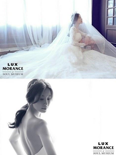 lee tae ran wedding