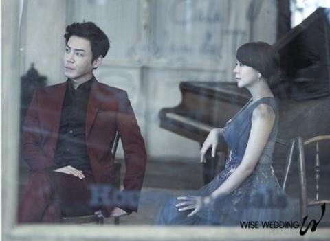 shim yi young choi won young wedding pictorial 2