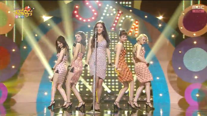 """Spica """"You Don't Love Me"""" Music Core comeback"""