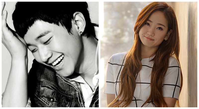 2PM Junho and Wonder Girls Ye Eun