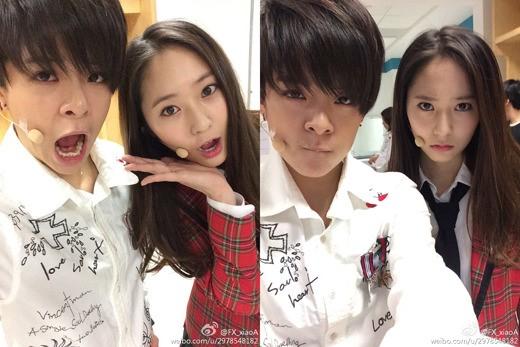 f(x)'s Amber and Krystal Look Too Cute In Recent Selcas ... F(x) Krystal Selca