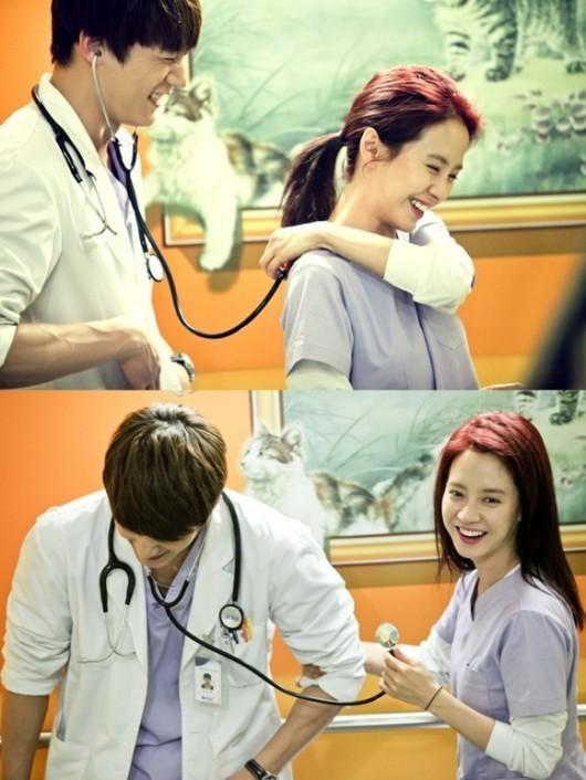 Choi Jin Hyun and Song Ji Hyio