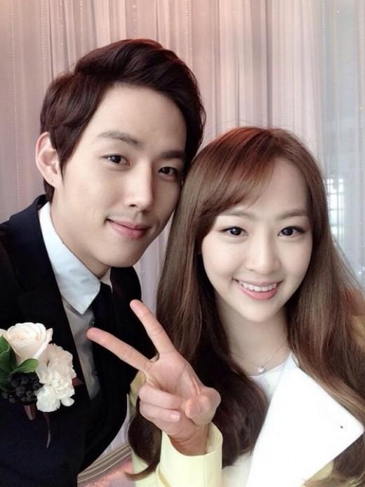 Dasom and Baek Sung Hyun