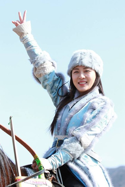 Ha Ji Won Horse Riding
