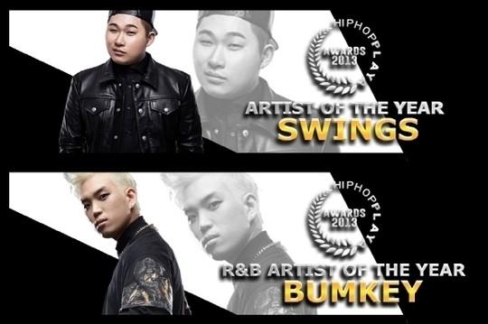 HIPHOPPLAYA Awards 2013: Swings and Bumkey