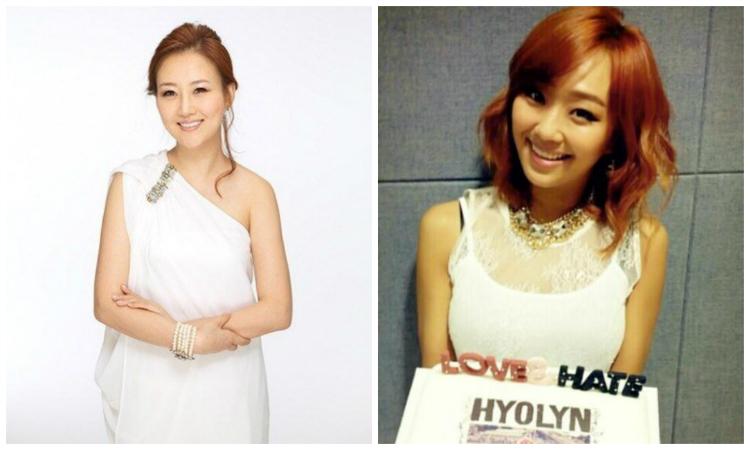 Jang Yoon Jung and Hyorin