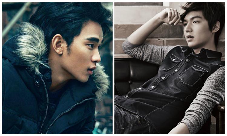 Kim Soo Hyun and Lee Min Ho