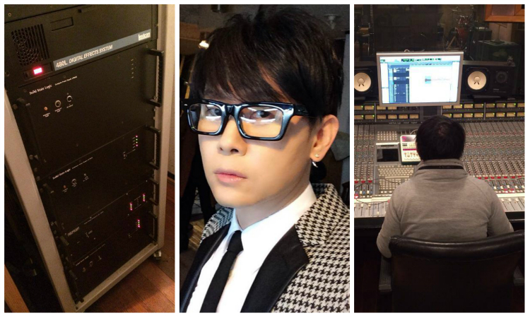 Lee Seung Hwan's Recording Studio Catches Fire