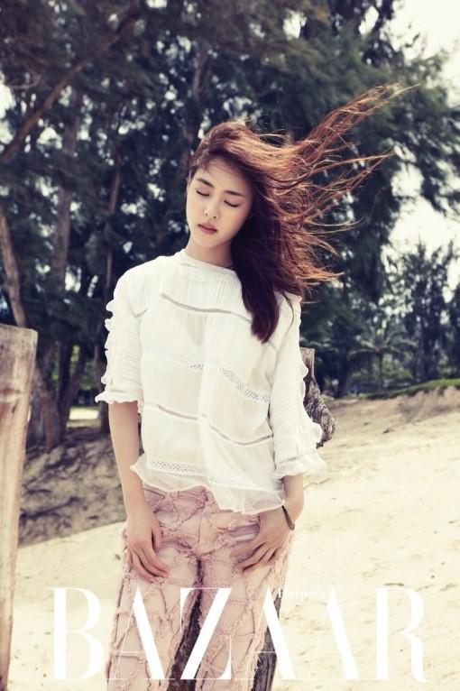 Lee Yeon Hee in Isabel Marant 1