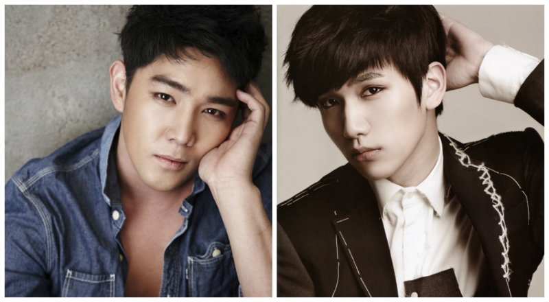 Super Junio's Kangin and VIXX's Hyuk