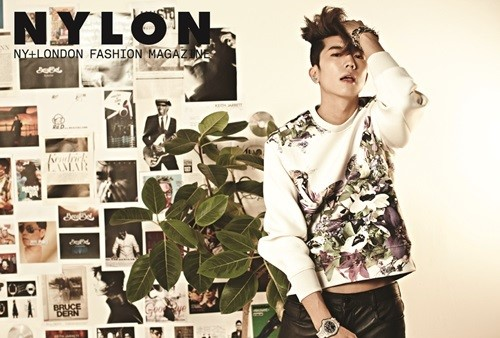 Wooyoung Nylon April 2014