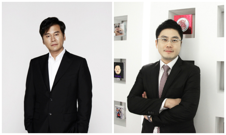 Yang Hyun Suk and Yang Min Suk
