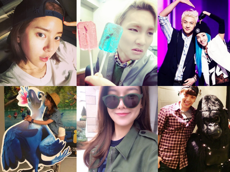 I Heart It: K-Pop Instagrams (Mar. 23 – 29)