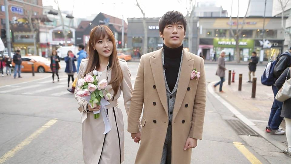 We Got Married Couple Nam Goong Min and Hong Jin Young