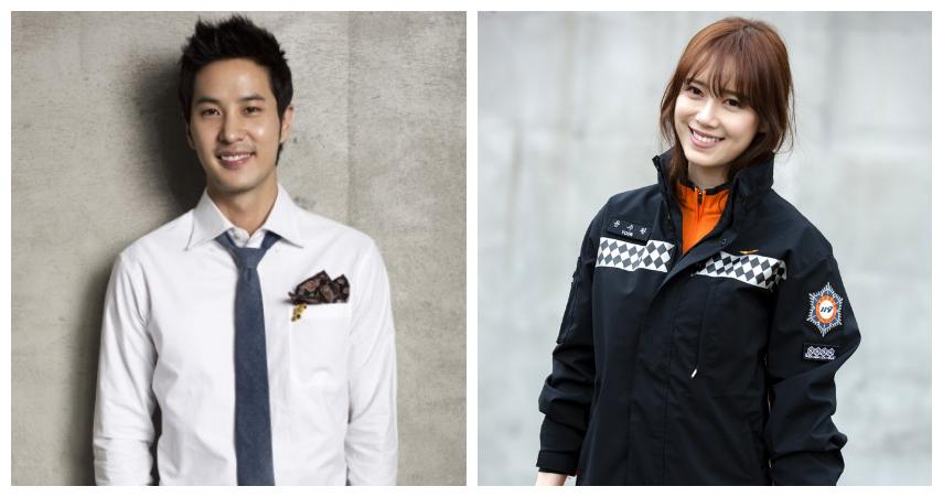 Kim Ji Suk and Goo Hye Sun